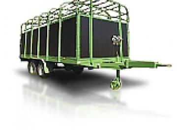 Для перевозки скота