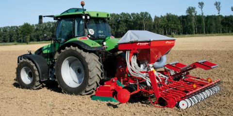 Пневматические зерновые сеялки Kverneland DA