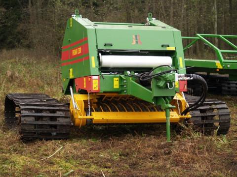 Пресс-подборщик PRONAR Z500G на гусеничном ходу
